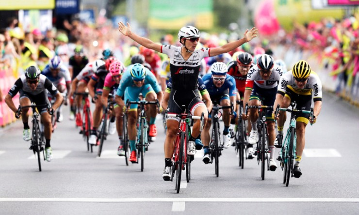 Niccolo Bonifazio wins Stage 3 of the 2016 Tour of Poland